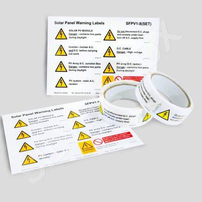 Solar PV Labels