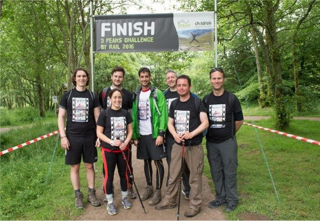 Silver Fox Sponsors the 3 Peaks Challenge