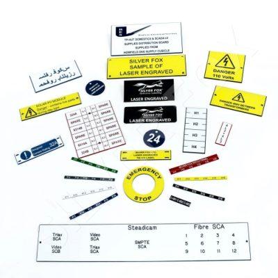 Endurance® Engraved Labels
