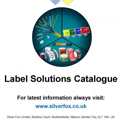 Silver Fox Label Solutions Catalogue