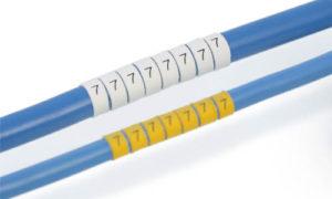 Legend™ LHS6-2T Heatshrink Markers – Medium OD ø 2-6mm 1